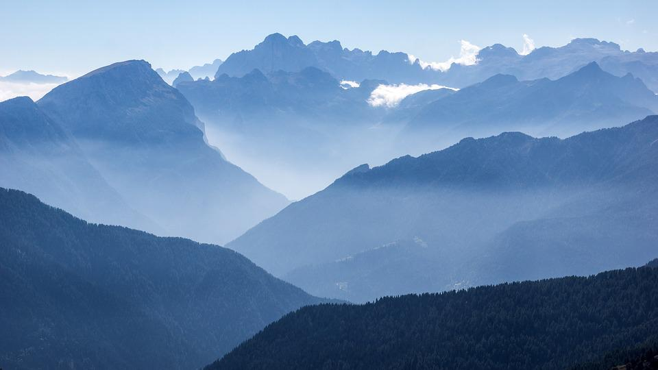 Landscape, Alps, Europe, Mountains, Dolomites, Nature