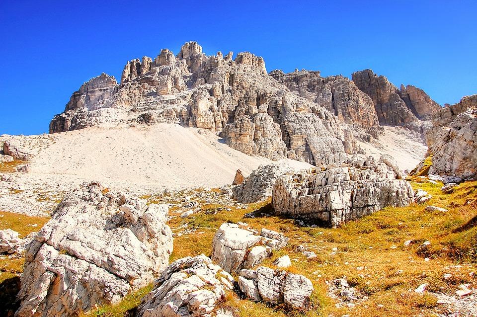 Paternkofel, Dolomites, Alm, Nature, Rubble Field, Karg