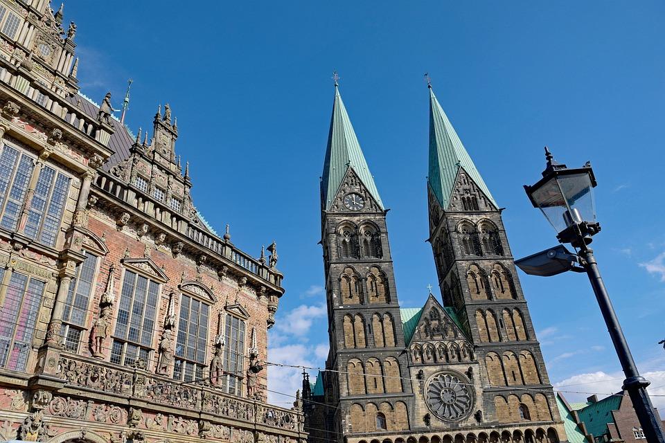 Bremen, Town Hall, Dom, Architecture, Historically