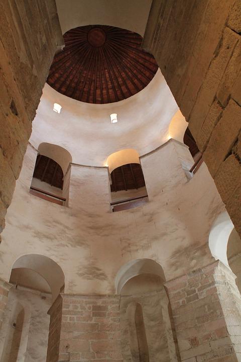 Dom, Church, Dome, Hall, High