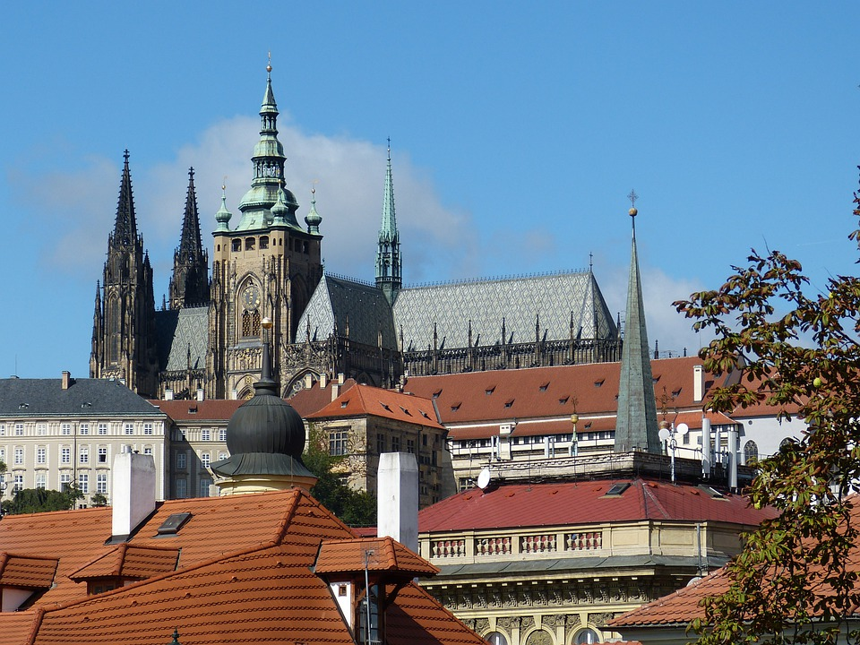 Prague, Old Town, Dom, Church, St Vitus Cathedral