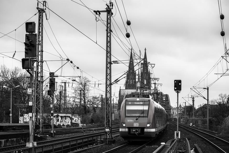 Dom, Train, Cologne Cathedral, Railway, S Bahn, Bridge