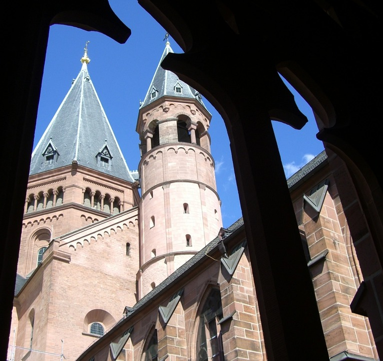 Tracery Views, Towers, Dom, Mainz