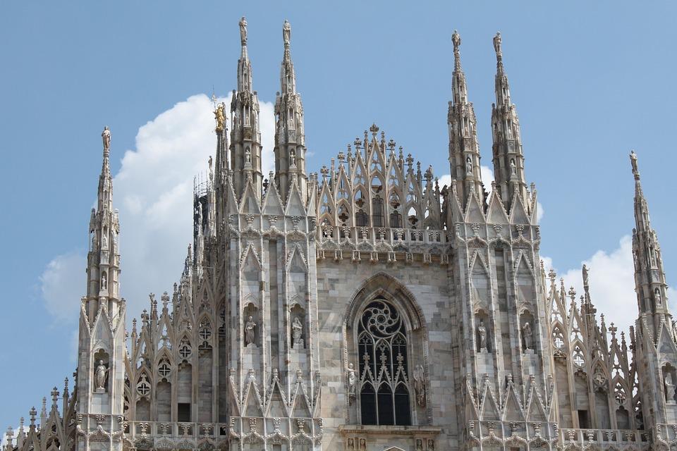 Milan, Dom, Architecture, Milano, Church, Italy