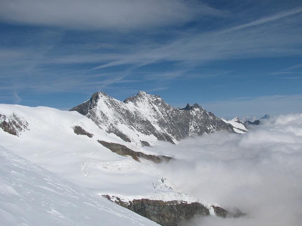 Dom, Micha Bell, Series 4000, Mountains, Snow, Alpine