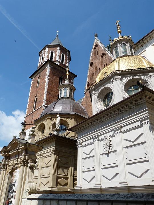 Krakow, Poland, City, Wawel, Dom, Church, Historically