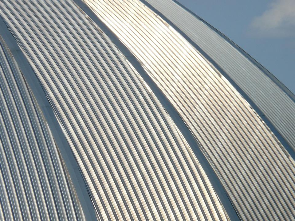 Dome, Domed Roof, Metal, Shine, Architecture, Aluminium