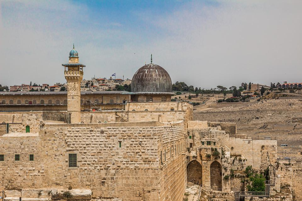 Al-aqsa, Ancient, Arab, Arabic, Architecture, Dome
