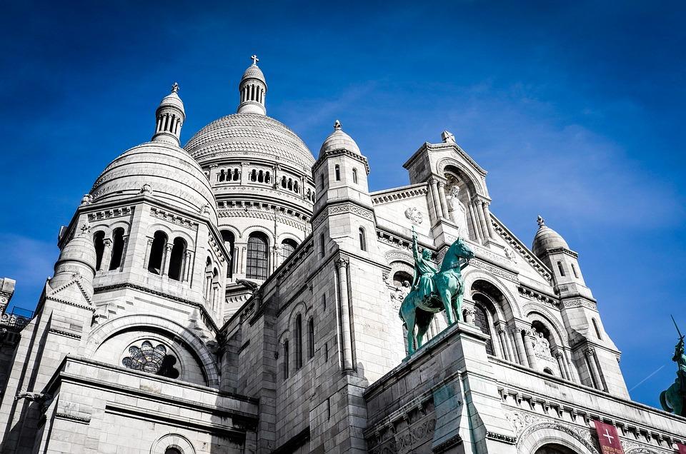 Church, Architecture, Facade, Dome, Statue, Sculpture