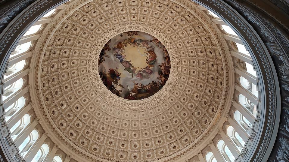 Capitol, Dome, Architecture, Freso, City, Marble