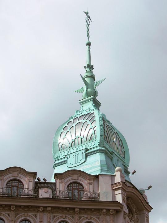 Free photo Dome Facade Art Deco Building Art Nouveau - Max Pixel