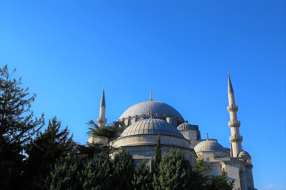 Cami, Minaret, Islam, Istanbul, Dome, Travel, Religion
