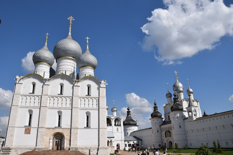 Church, Sky, Dome, Clouds, Tourism, Monastery, Vera