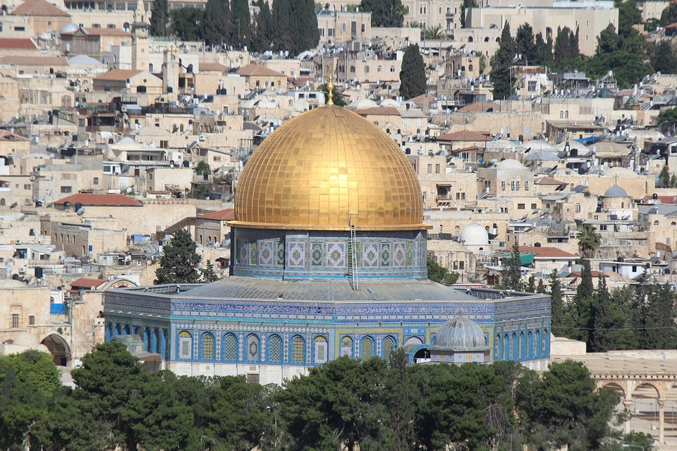Dome Of The Rock, Islamic Mosque, Sacred Place