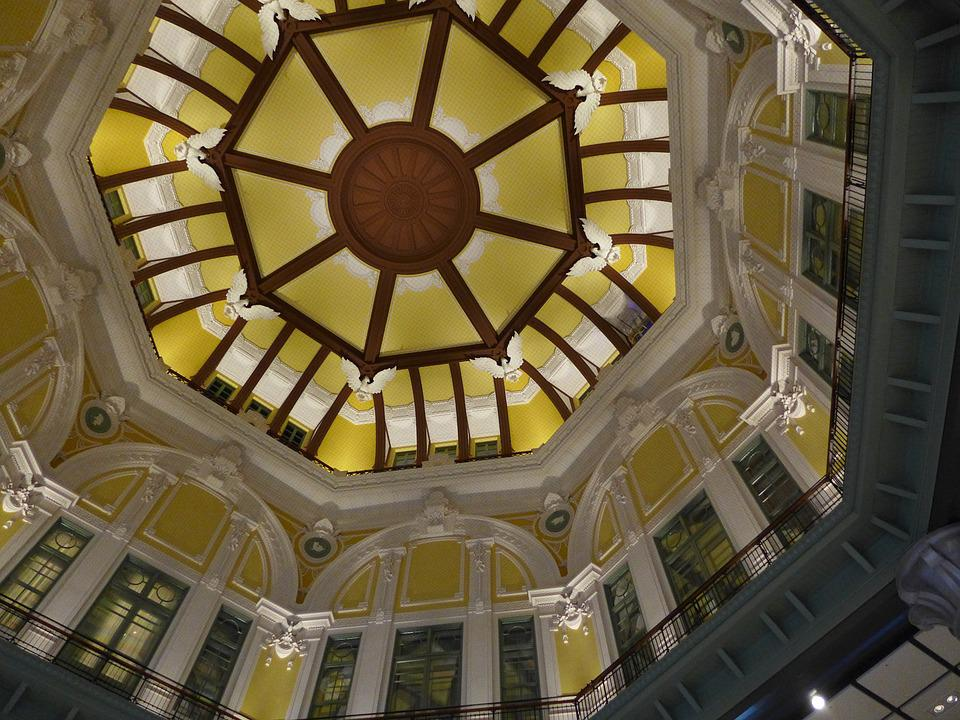 Tokyo Station, Dome, Relief