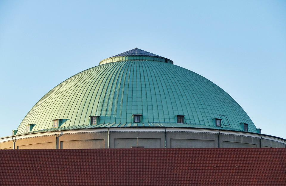 Architecture, Modern, Travel, Building, Sky, Dome, City