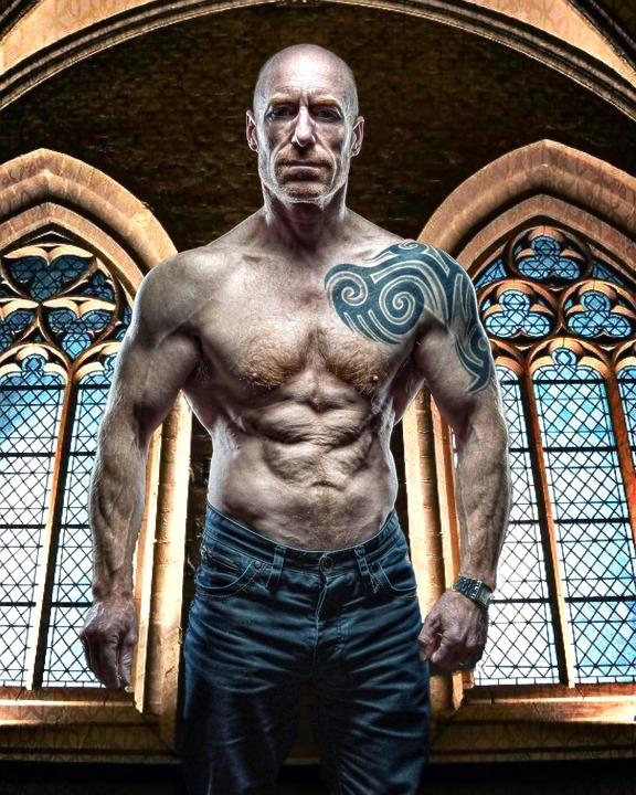 Free photo Dominant Muscular Man Master Stern Male Muscles - Max Pixel