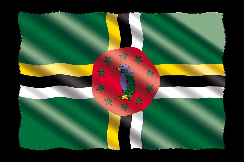 International, Flag, Dominica