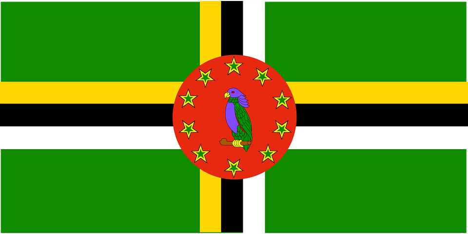 Dominica, Flag, Symbol, Country, Nation, Sign, Symbols