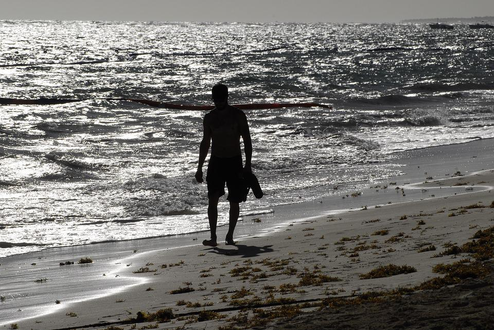 Silhouette, Dom Rep, Dominican Republic, Holiday