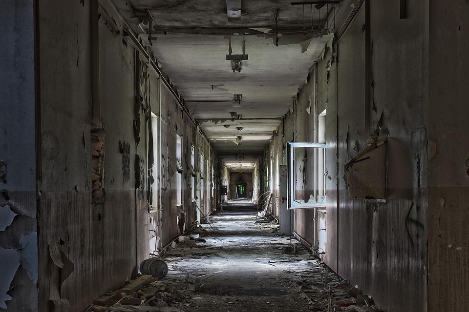 Abandoned, Within, Architecture, Door, Floor, Old