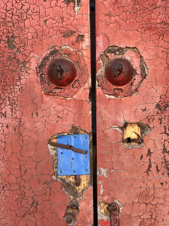 Goal, Door, Input, Gate, Old, Architecture, Portal