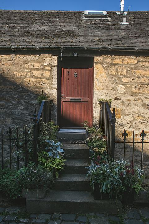 Door, House, Old, Architecture, Building, Entrance