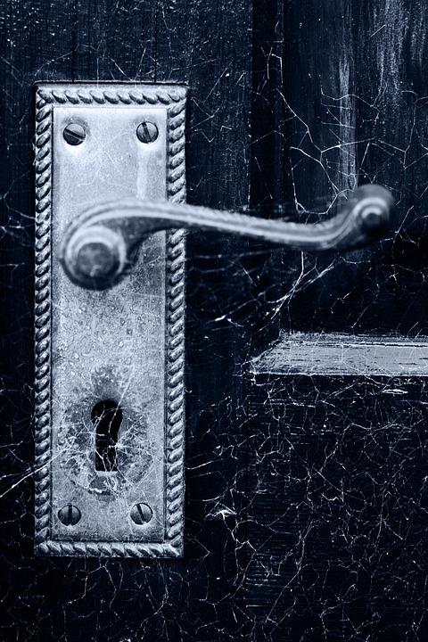 Halloween, Spooky, Scary, Detail, Dirty, Door, Handle