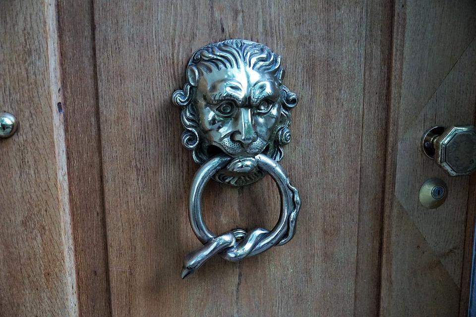 Beautiful Door, Jack, Input, Door Handle, Metal, Old, Door Knob