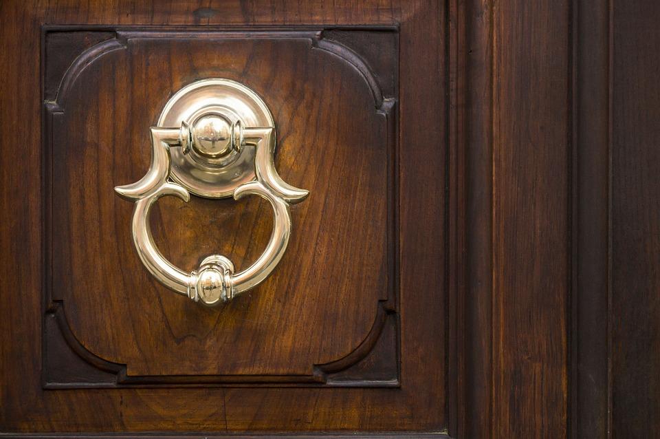 Urban, Handle, Door, Bell, Metal