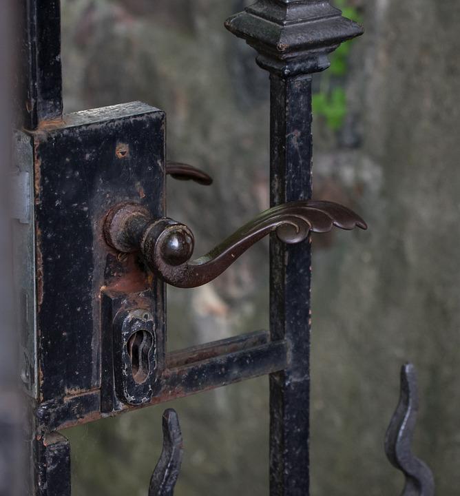 Close, Door, Door Handle, Input, Security, Key Hole