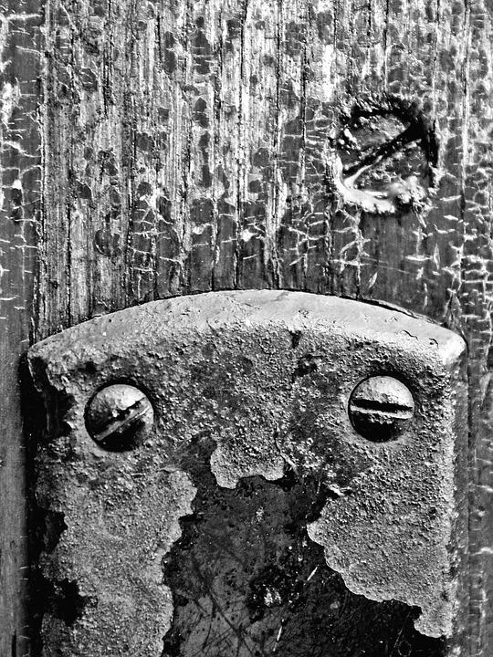 Door, Castle, Screw, Wood, Goal, Old, Input
