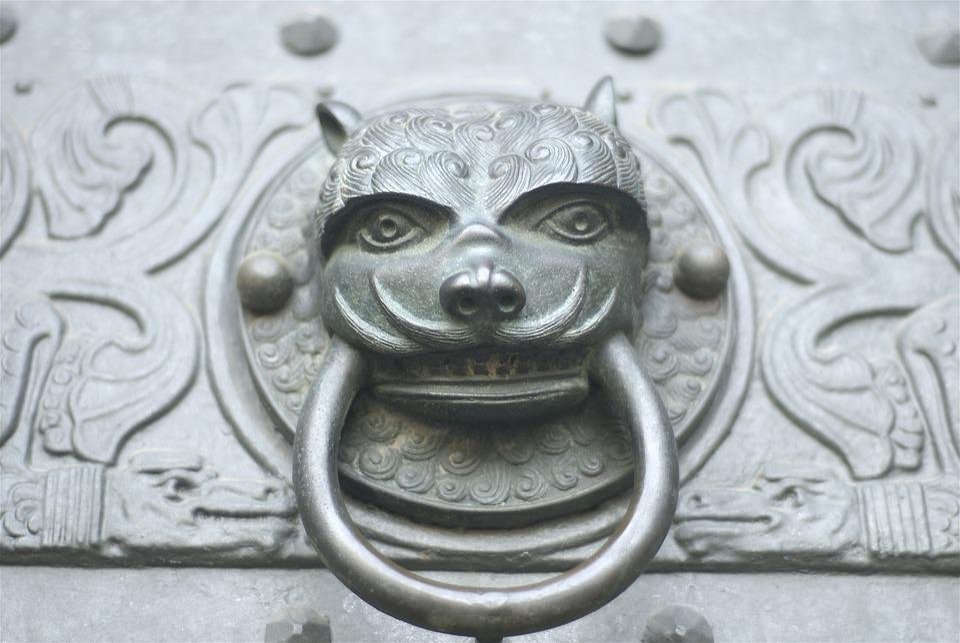 Door Knocker, Decorative, Antique, Ornament