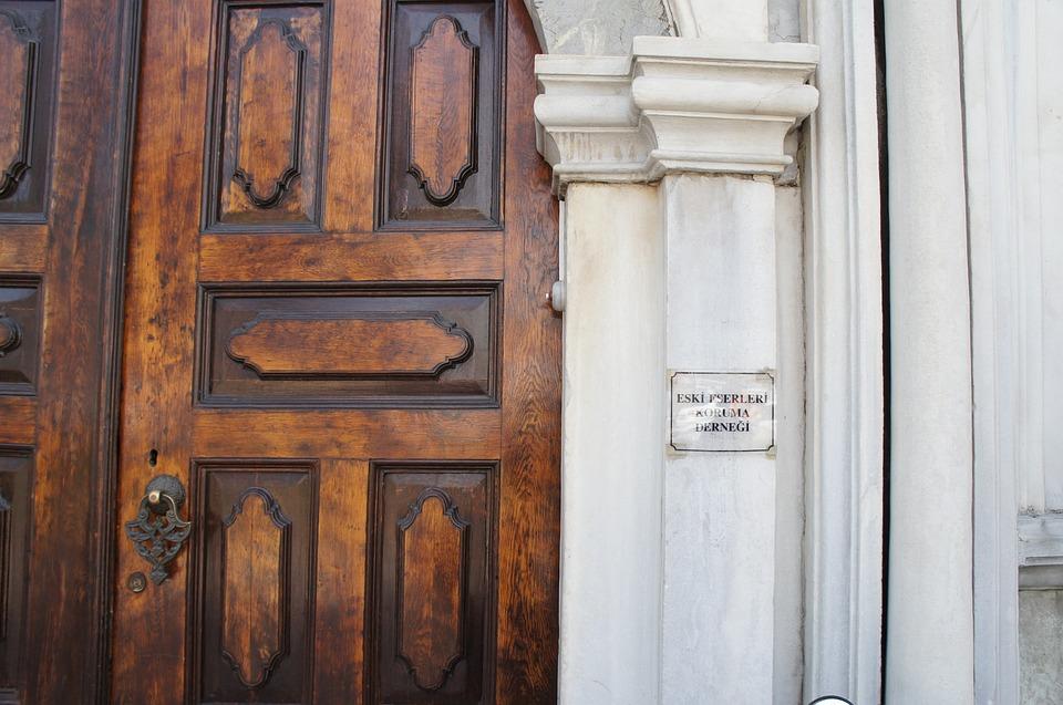 Door, Oriental, Architecture, Old, Wood, Ancient