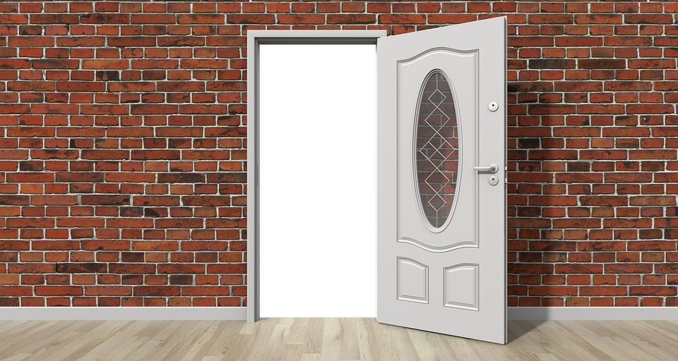 Door, Open, Wall, Open Door, Home, Interior, House