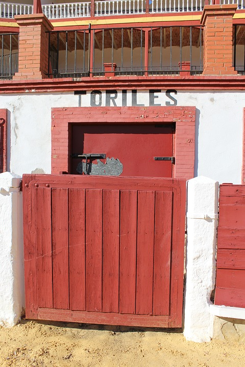 Door Toriles, Bulls, Plaza