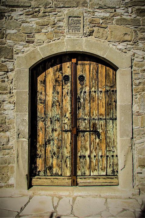Door, Wooden, Old, Entrance, Church, Traditional
