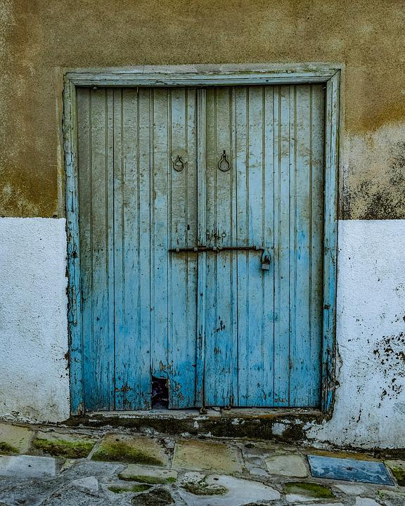 Door, Wood, Wooden, Doorway, Entrance, Aged, Weathered