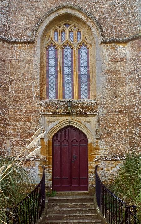 Architecture Door Gothic Doorway Entrance Old