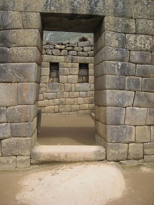 Machu Picchu, Doorway, Ruin, Ancient, Peru, Andes