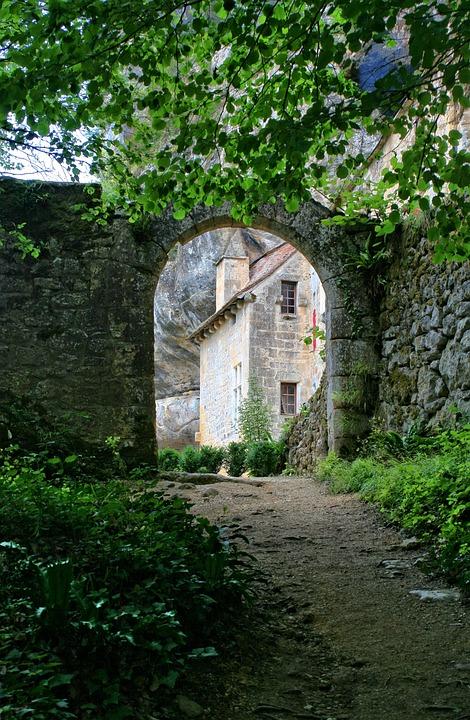 France, Dordogne, Périgord, Stronghold Of Reignac