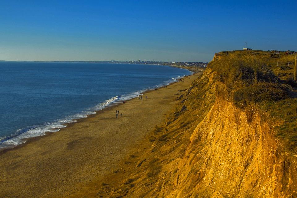 Beach, Ocean, Seascape, Dorset