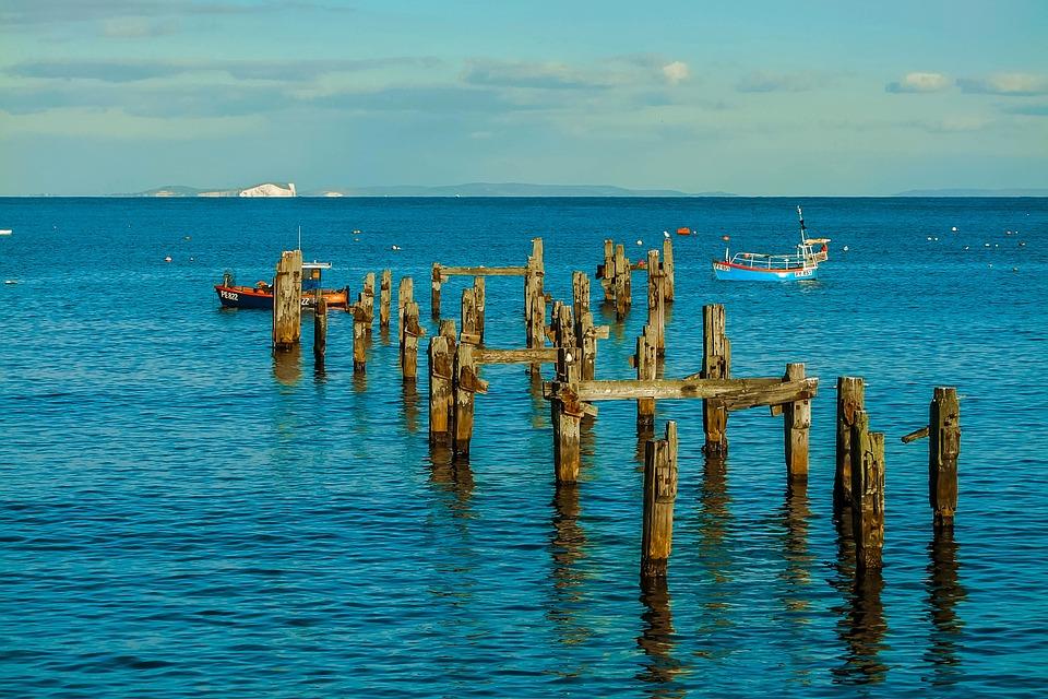 Swanage Bay, Dorset, Ocean