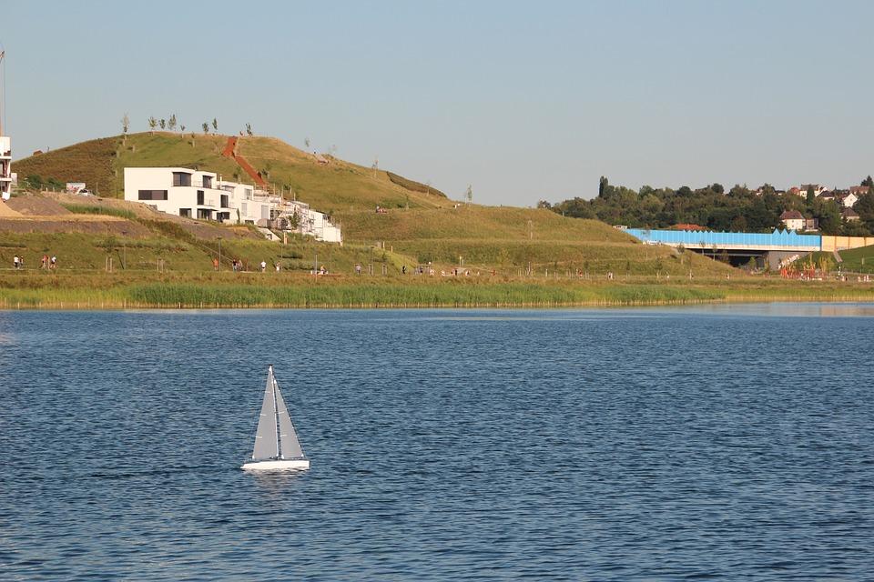 Dortmund, Phoenix Lake, Kaiserberg, B236, Model Boat