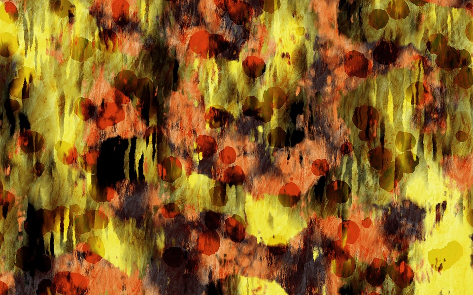 Dot Grunge, Paint, Colorful, Texture, Background