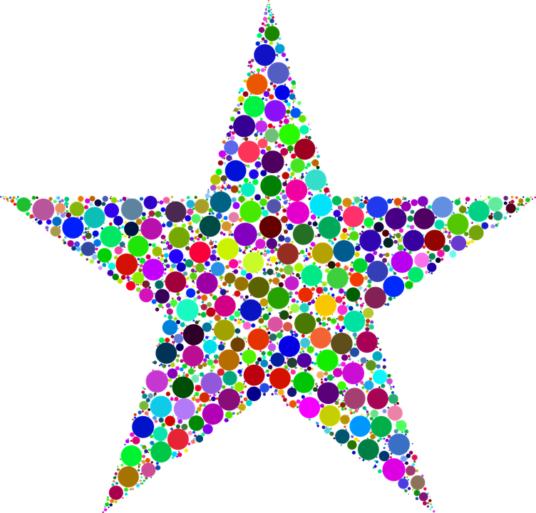 Colorful, Prismatic, Chromatic, Rainbow, Circles, Dots