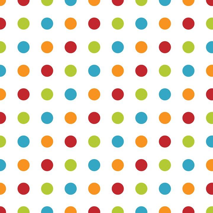 Polka Dots, Dots, Spots, Pattern, Design, Wallpaper