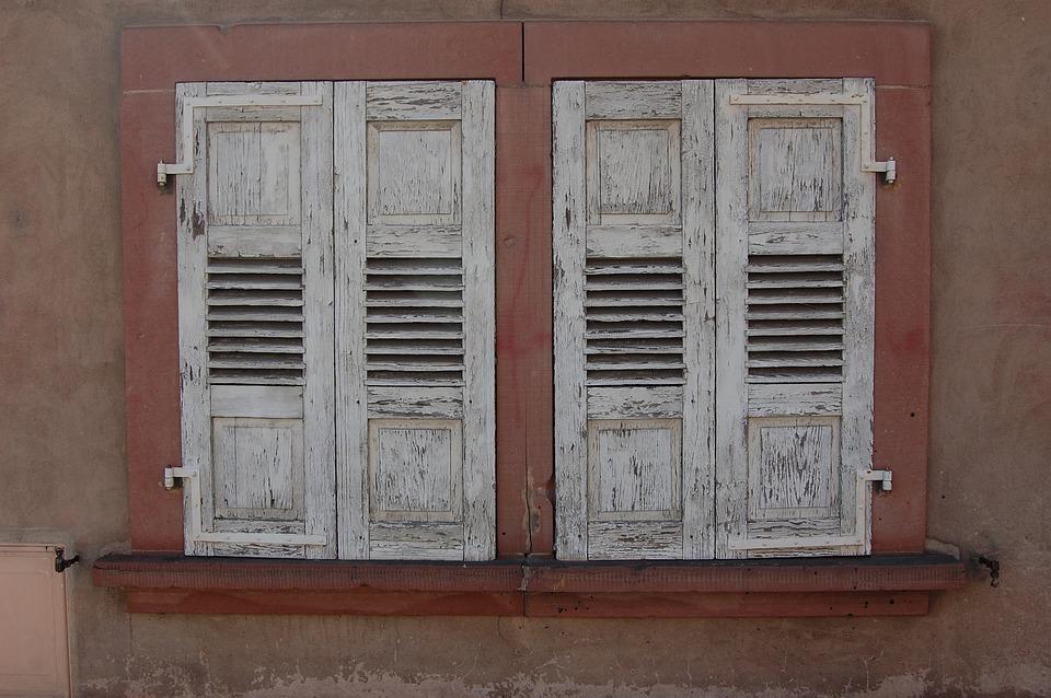 Window, Double Glazed Windows, Facade, House, Old