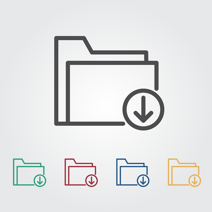 Free photo Download Cloud Icon Network Data Download Icon