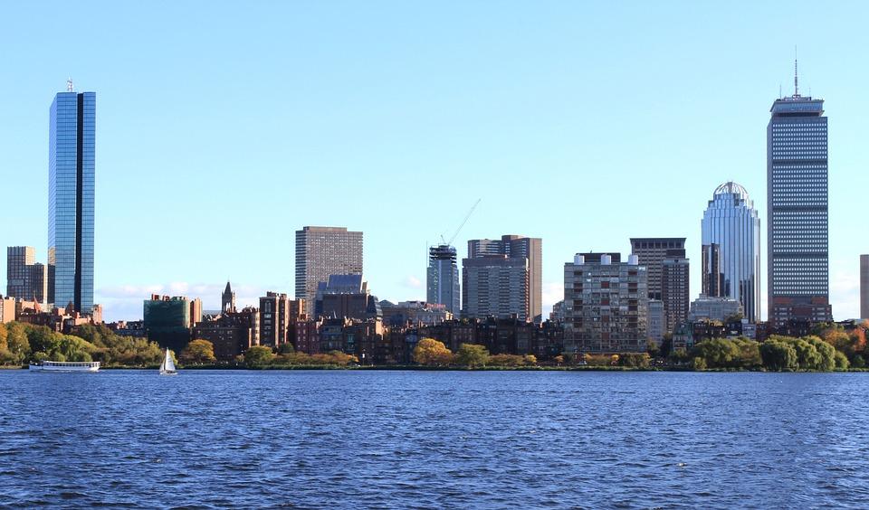 Boston, Downtown, Massachusetts, Scenic, Cityscape